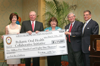 Naples charity donates $5.5 million to fund UF children's dental clinic