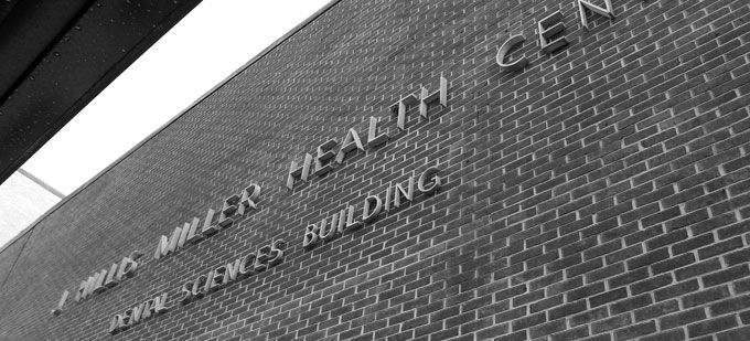 Dental Sciences Building - front