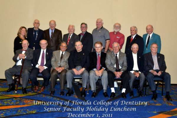 2011 Senior Faculty Holiday Luncheon