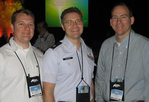 (L-R) Dr. Joseph DeJongh, Dr. Michael Crabtree and Dr. Samuel Markham