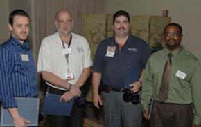Antwan Bates, Charles Lesch, Lee Mintz and Justus Weber