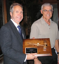 Arthur Nimmo installed as president of OKU