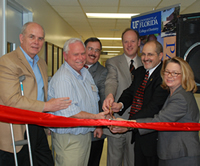 College dedicates renovated pediatric dental center