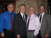OKU Officers Dr. Matthew Dennis, Dr. Arthur Nimmo, Dr. Donald Cohen, Dr. Ronald Watson