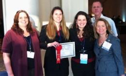 Nina Guba wins student AADR award
