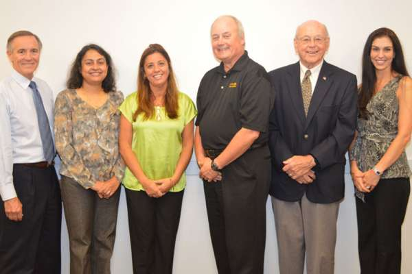Endodontics department faculty with Dr. Krell