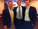 Winners at UFCD Research Day: Drs. Ryan, Elliott and Loeffelholz
