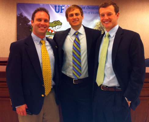 Winners at UFCD Research Day: Drs. Ryan, Elliott and Loeffelholz