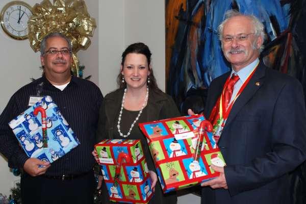 2012 Holiday Tea & Service Pin Ceremony