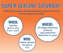 Super Sealant Saturday Flyer