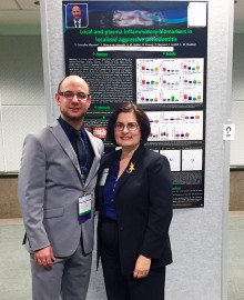 Marrero and Dean Isabel Garcia during the 2016 AADR