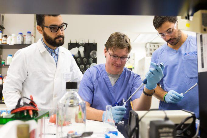 UF No. 5 in NIH funding