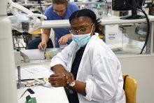 SHPEP student in sim lab