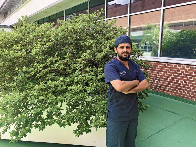Dr. Alqahtani staged square