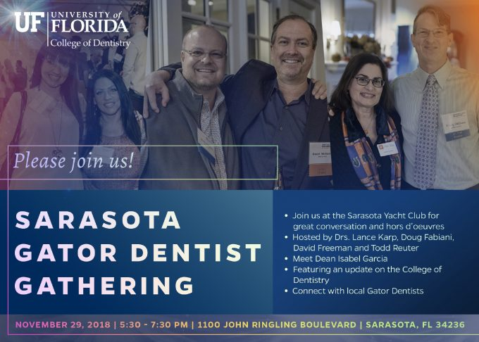Sarasota Gator Dentist Gathering