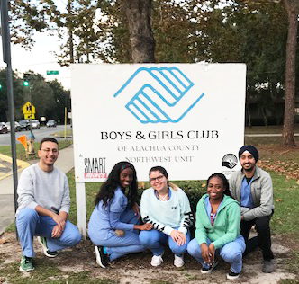 SNDA at boys girls club
