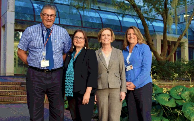 College of Nursing and Dentistry deans