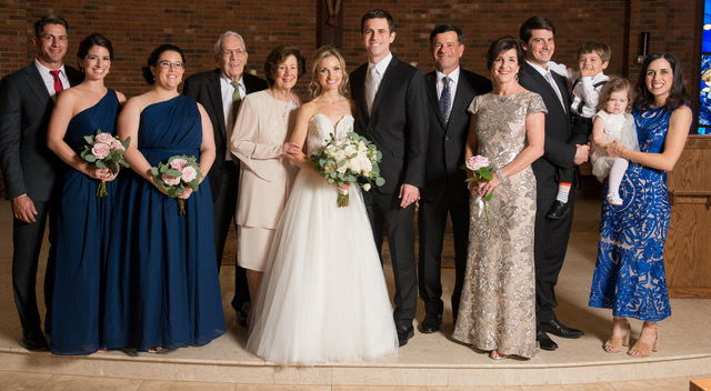 Fetner family wedding photo