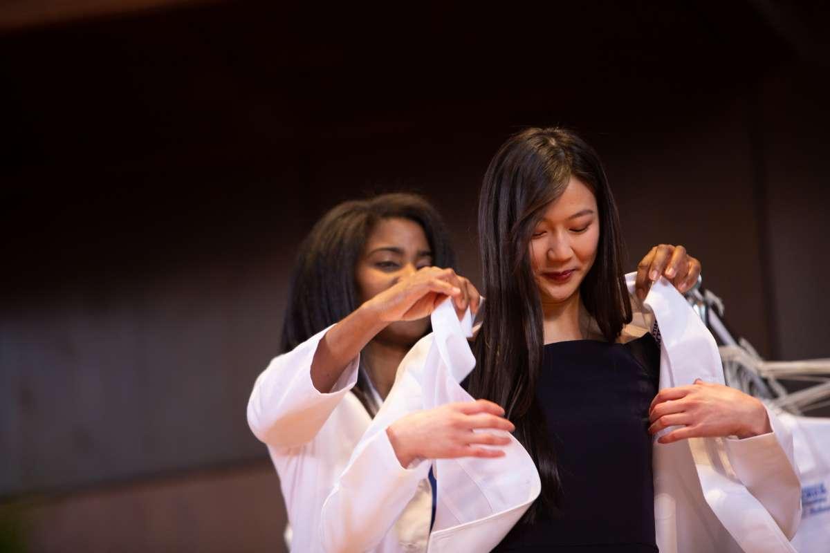 class of 2022 white coat ceremony