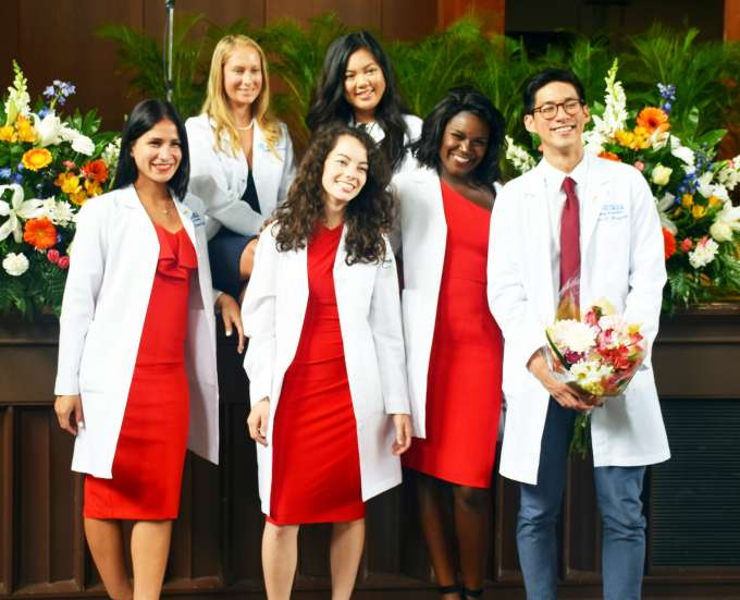 DMD Class of 2021 White Coat