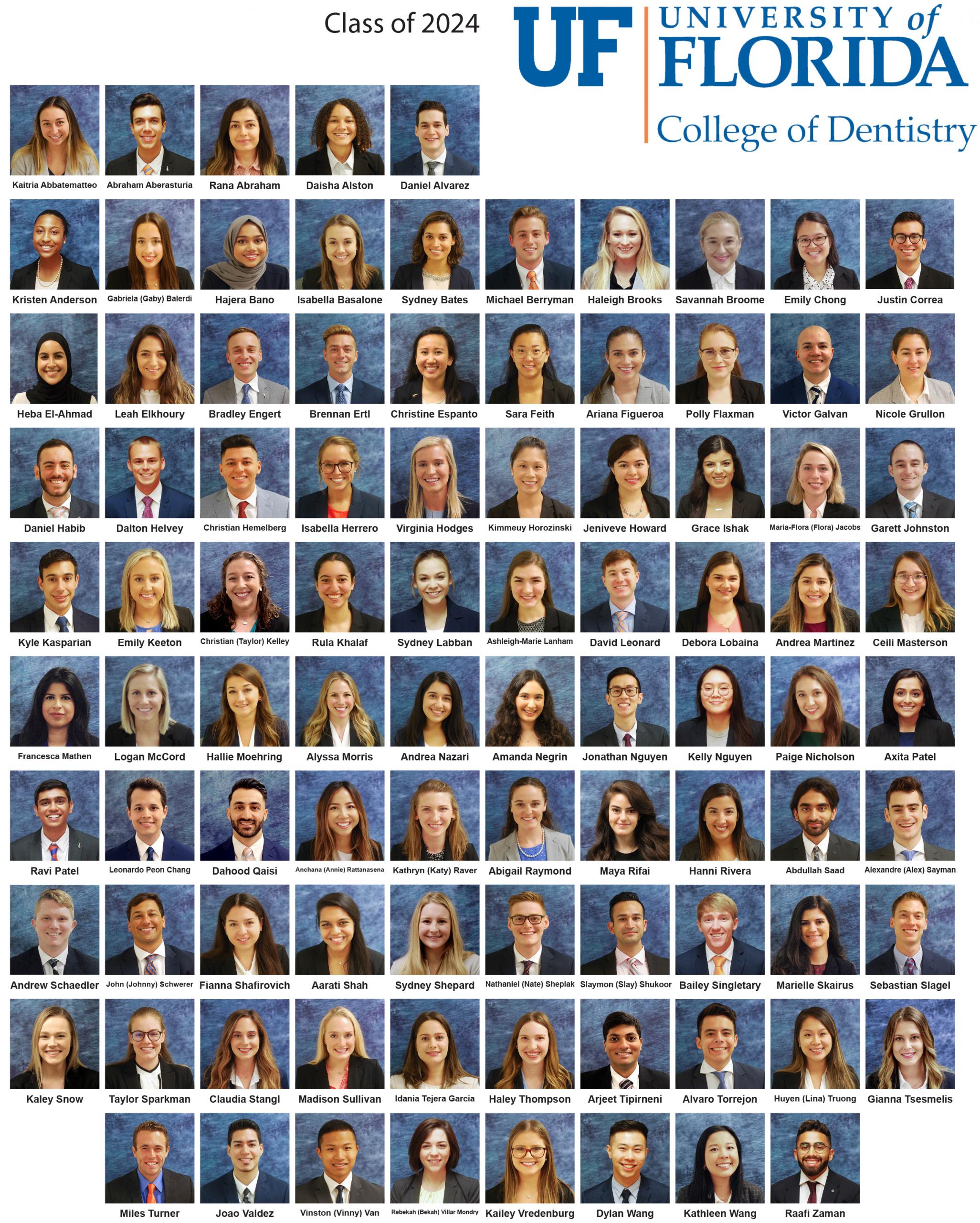 DMD Class of 2024