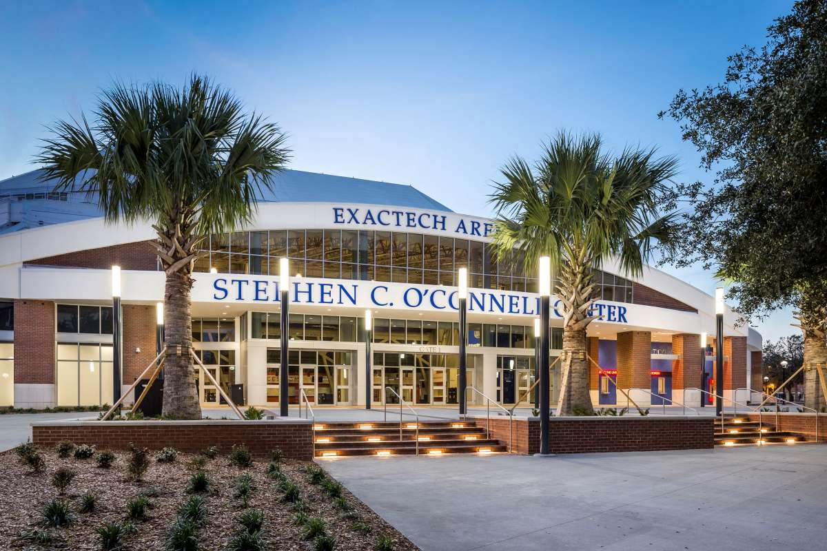 stephen c. o'connell center on UF campus
