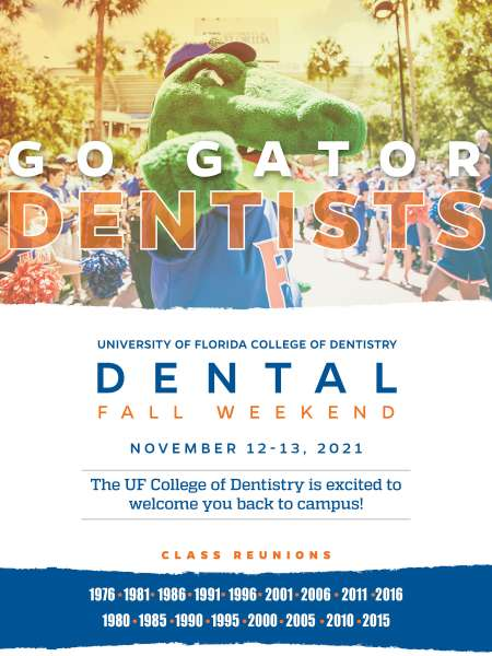 UFCD Dental Fall Weekend November 12-13, 2021 for classes ending in 0, 1, 5, and 6